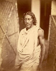 Portrait of a man, Eastern Bengal. 27